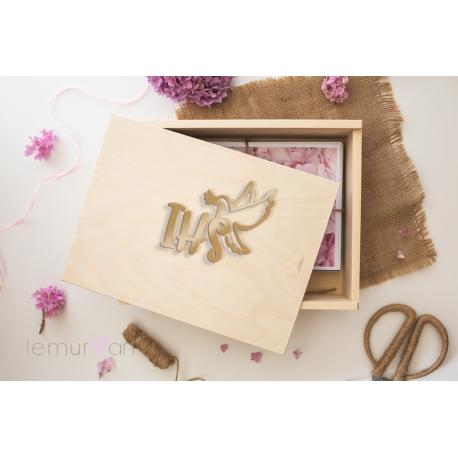 Drewniane pudełko GLOSSY 15x23