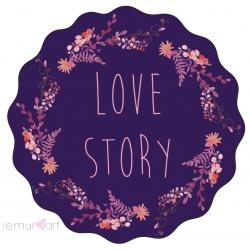 """Naklejki """"Love story"""""""
