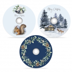 Świąteczne płyty kolekcja MROŹNA NOC