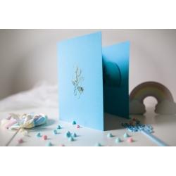 Mini album NIEBIESKI APARACIK 15x23