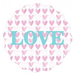 """Naklejki """"Love"""""""