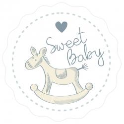 "Naklejki ""Sweet Baby"""