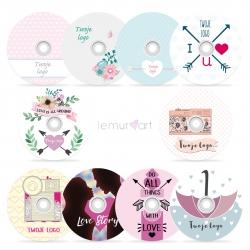 Miłosne płyty DVD z Twoim logo