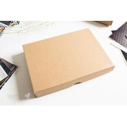 Pudełko gładkie 15x23 NATURALNE