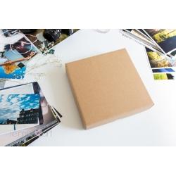Pudełko na fotoalbum 20x20 NATURALNE