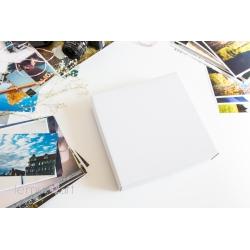 Pudełko na fotoalbum 20x20 BIAŁE