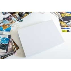 Pudełko na fotoalbum 20x30 BIAŁE