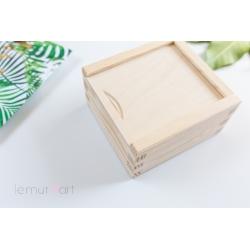 Pudełko drewniane na pendrive