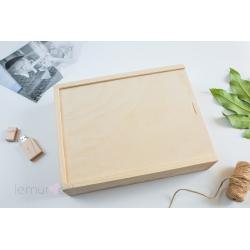 Drewniane pudełko 15x23
