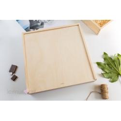 Drewniane pudełko 30x30