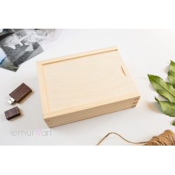Drewniane pudełko 10x15