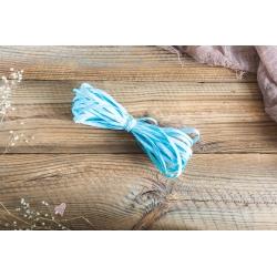 Niebieski sznurek typu RAFIA