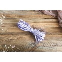 Fioletowy sznurek typu RAFIA