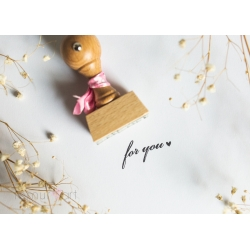"Stempel ""For You"""
