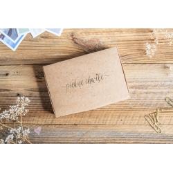 Pudełko GLAM na zdjęcia 10x15 KRAFT